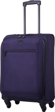 Grape full Circle Cabin 4 Wheel Suitcase