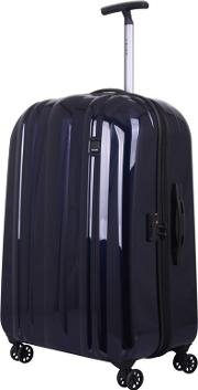 Ink Blue absolute Lite Zip 4 Wheel Large Suitcase