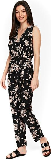 Black Daisy Jumpsuit