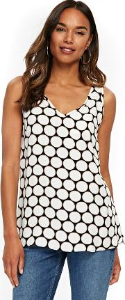 Ivory Spot Camisole