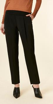 Petite Black Tailored Trousers