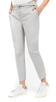 Petites Grey Belted Trousers