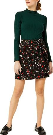Granite Print Pelmet Skirt