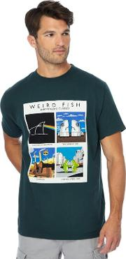 Green shrimp Floyd Classics Printed T Shirt