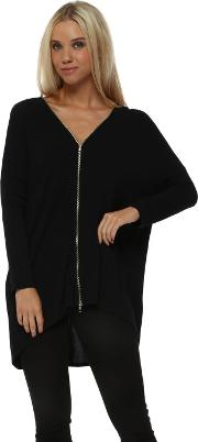 Flick Black Double Ended Zip Top
