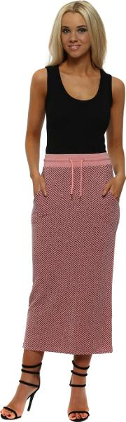 Hayley Coraline Herringbone Pencil Skirt