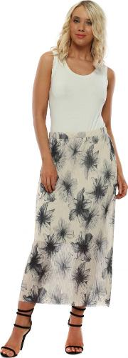 Mae Coconut Floral Maxi Skirt
