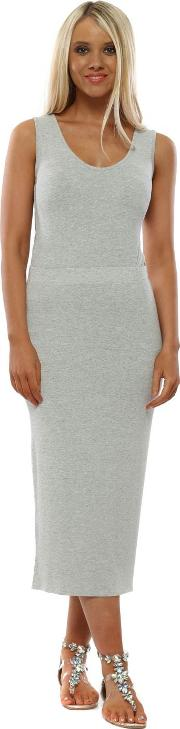 Milli Coconut Melange Pencil Skirt