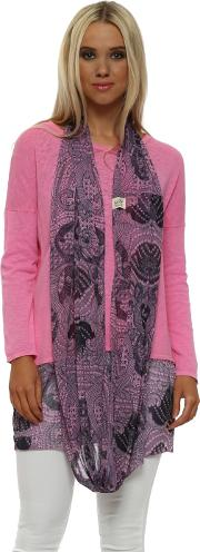 Pinkest Luxe Luxe Chiffon Snoodie