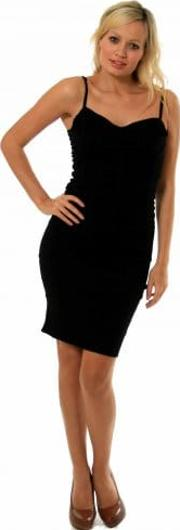 Dresscode Black Body Con Dress