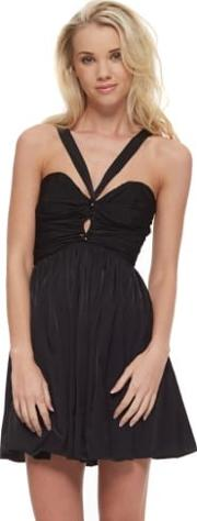 Short Lived Dress With Criss Cross Bandeau Top
