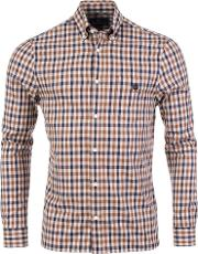 York Check Shirt In Vicuna