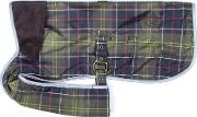 Waterproof Tartan Dog Coat