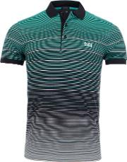 Athleisure Paddy 3 Engineered Multi Stripe Polo