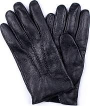 Lambskin Nappa Leather Grifin Gloves