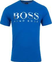 Casual Photographic Logo Print Tauch T Shirt
