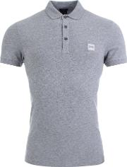 Passenger Slim Fit Polo In Grey