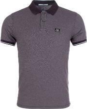 Tacting Polo Shirt In Coffee
