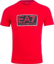 Visibility T Shirt In Red