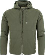 Wadded Hooded Jacket
