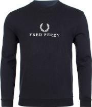 Sports Authentic Embroidered Sweater