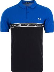 Taped Chest Polo Shirt