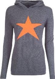Star Cashmere Mix Hoody