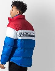 Abby Colour Block Puffer Jacket