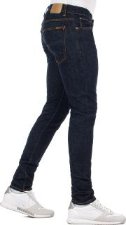 Skinny Fit Tight Terry Jeans