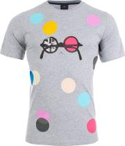 Dots T Shirt In Grey