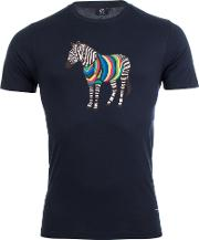 Slim Fit Zebra T Shirt