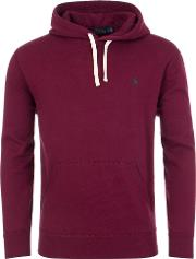Cotton Blend Fleece Hoodie