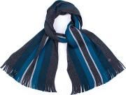 Keverne Striped Scarf