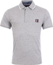 Slim Fit Sophisticated Tipped Collar Polo Shirt