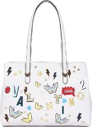 Patch Embroidered Tote