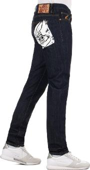 Classic Tapered Fit Jeans