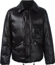 Padded Bomber Jacket Men Cottonfeather Downnylonpolyester 6