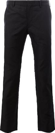 Sircus Trousers Men Linenflaxnylon 6, Black