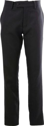 Tailored Trousers Men Polyesterwool 4, Blue