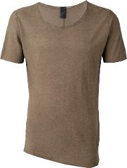 Round Neck T Shirt Men Cotton M, Nudeneutrals