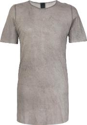Sheer Half Sleeve T Shirt