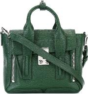 3.1 Phillip Lim Mini Pashli Satchel Women Calf Leather One Size, Green
