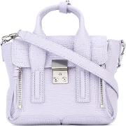 3.1 Phillip Lim Mini Pashli Satchel Women Leather One Size, Pinkpurple