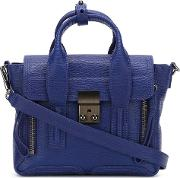 3.1 Phillip Lim Mini 'pashli' Satchel Women Leather One Size, Women's, Blue