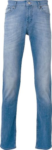 'ronnie' Jeans Men Cottonpolyesterspandexelastane 32, Blue