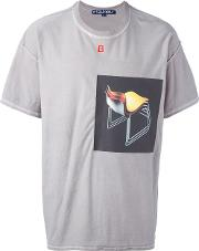 A Cold Wall Front Print T Shirt Men Cotton S, Grey