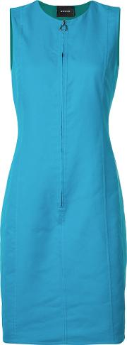 Reversible Dress Women Cottonnylon 4, Blue