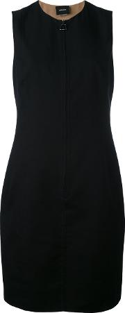 Shift Dress Women Cottonpolyamide 38, Black
