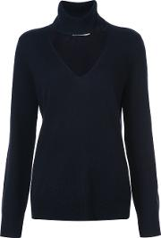 Roll Neck Detail Sweater