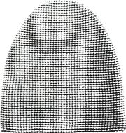 Alexander Wang Textured Beanie Men Merinonyloncotton One Size, White